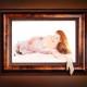 portrait, gentle photoshop, studio portrait