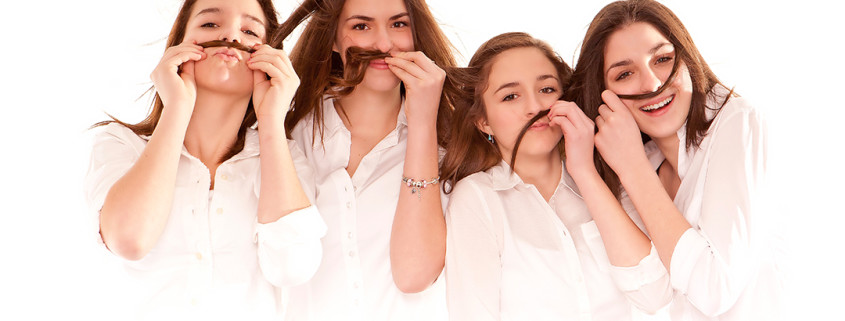 sisters, high key, studio portrait