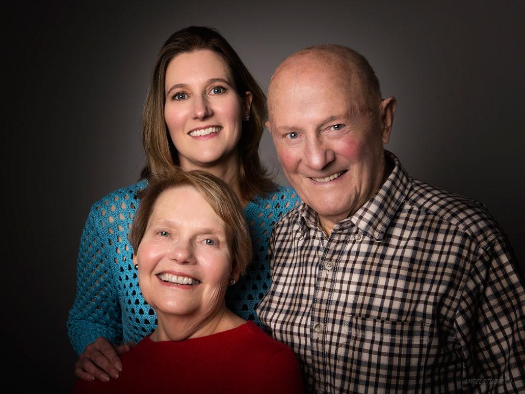 family portrait. studio portrait