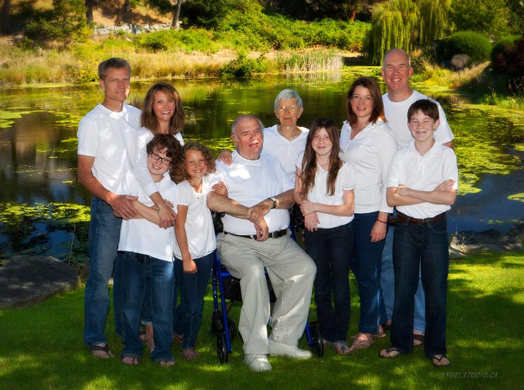 family portrait, remote portrait