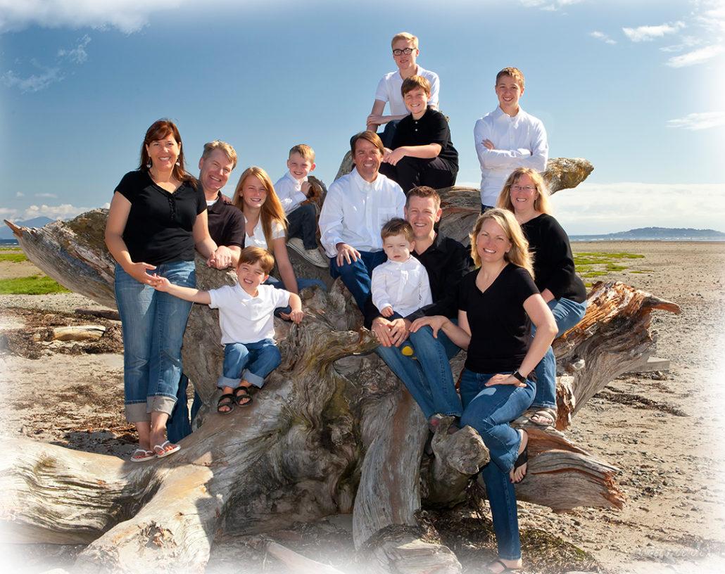 family portrait, beach portrait,
